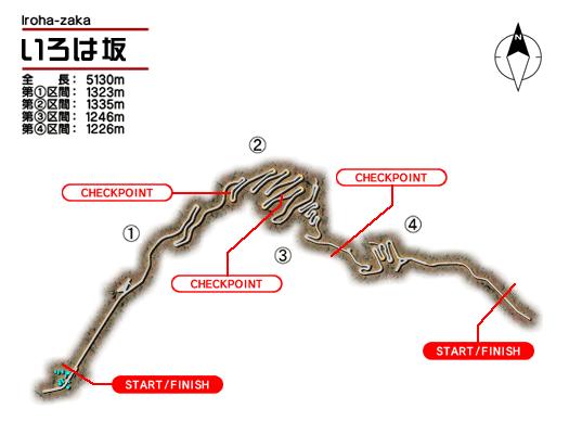 Initial D 4 Id45irohazaka