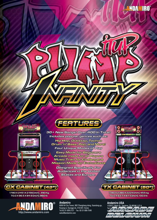 Pump It Up Infinity Piui01