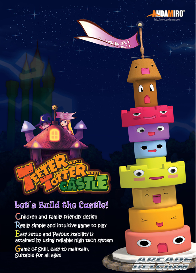Teeter Totter Castle Ttc01
