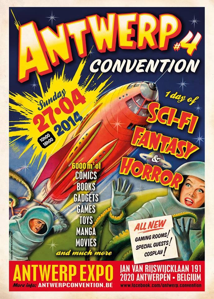 Antwerp Convention #4 (Sun 27/04/2014 - Antwerpen) Ac2014a