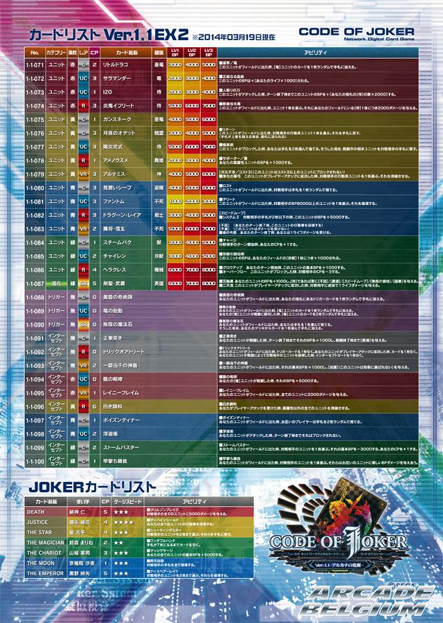 Code of Joker Coj_11ex2b