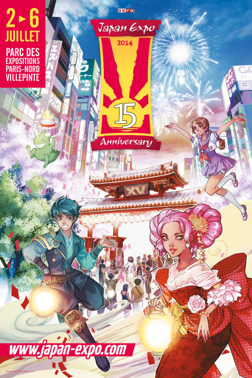Japan Expo 2014 (2-6 July 2014 - Villepinte, France) Je15