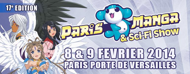 Paris Manga & Sci-Fi Show 2014 (08-09/02 2014 - Paris) Pm2014