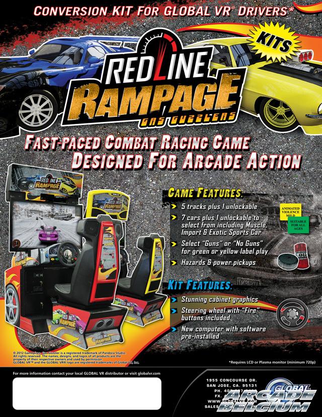 Redline Rampage - Gas Guzzlers Rrgg01