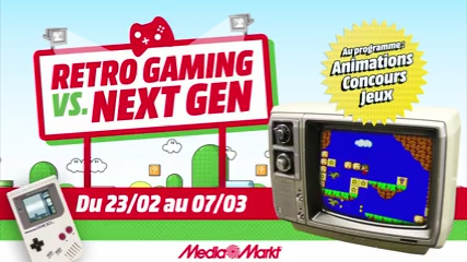 Retro-Gaming Vs. Next-Gen @ Media Markt Gosselies Rgvsngf