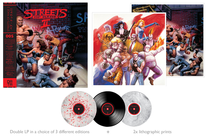 Streets of Rage 2 vinyl soundtrack Data005_02