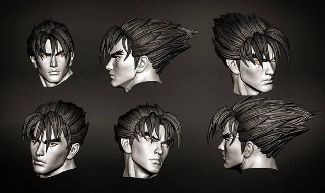 First 4 Figures: Jin Kazama F4f_jin_01