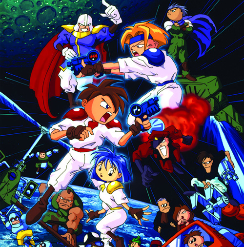 Gunstar Heroes vinyl soundtrack Data011_01