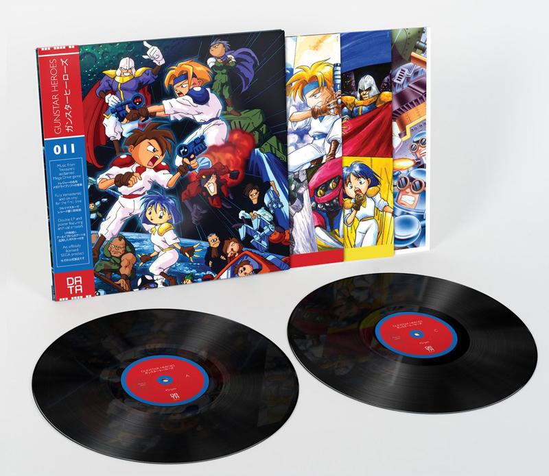 Gunstar Heroes vinyl soundtrack Data011_03