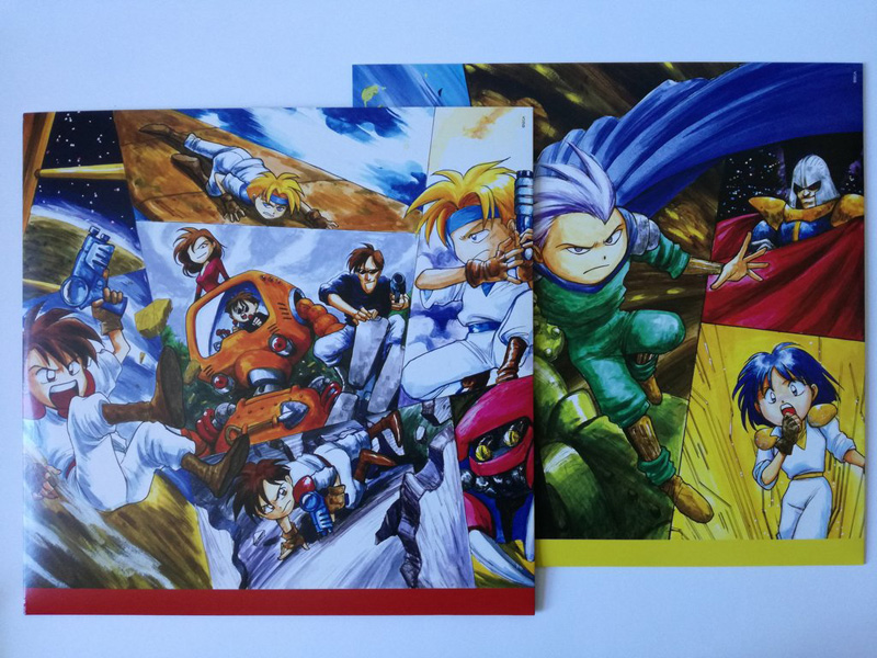 Gunstar Heroes vinyl soundtrack Data011_06