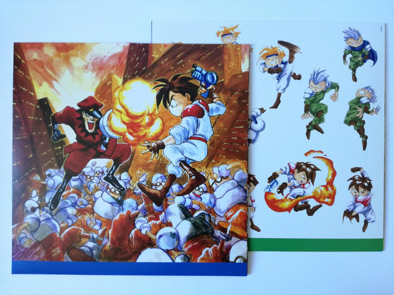 Gunstar Heroes vinyl soundtrack Data011_07